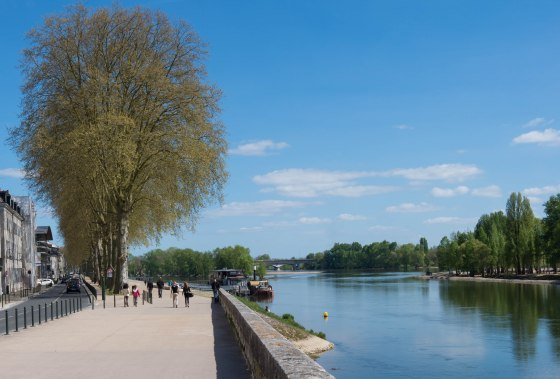 Strolling along the Loire